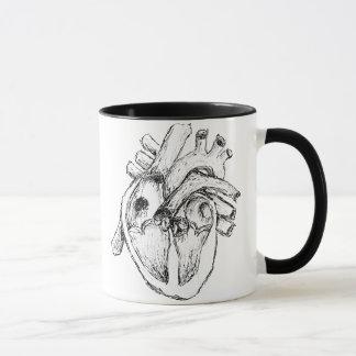 Human Heart Mug