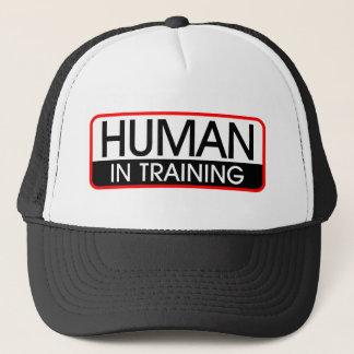 Human In Training Trucker Hat