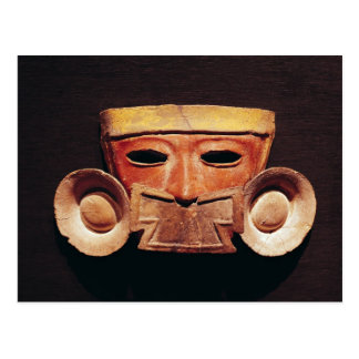Human mask, from Teotihuacan Postcard