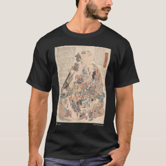 Human physiology as Kabuki T-Shirt