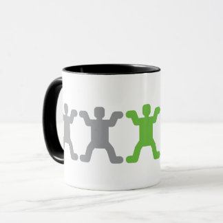 Human Pictogram Mug