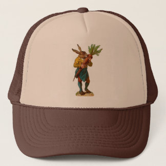 Human Rabbit With GIANT CARROT ! Trucker Hat