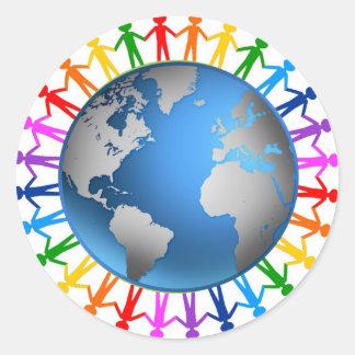 Human Rainbow Sticker