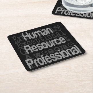Human Resource Professional Extraordinaire Square Paper Coaster