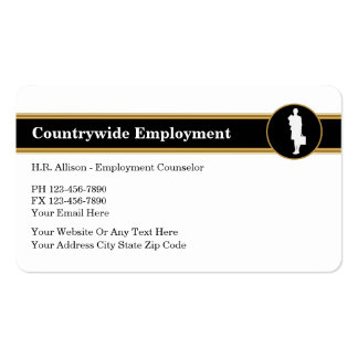 Human Resources Business Card