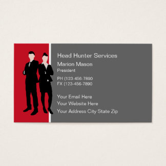Human Resources Business Cards