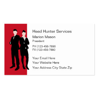 Human Resources Business Cards Business Card Templates