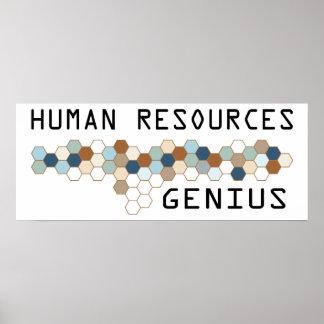 Human Resources Genius Poster