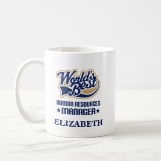 Human Resources Manager Personalized Mug Gift