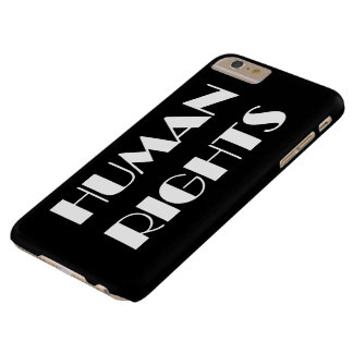 human rights barely there iPhone 6 plus case