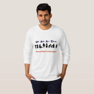 Human Rights Equality Disability Protest Shirt