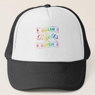 Human Rights Matter Trucker Hat