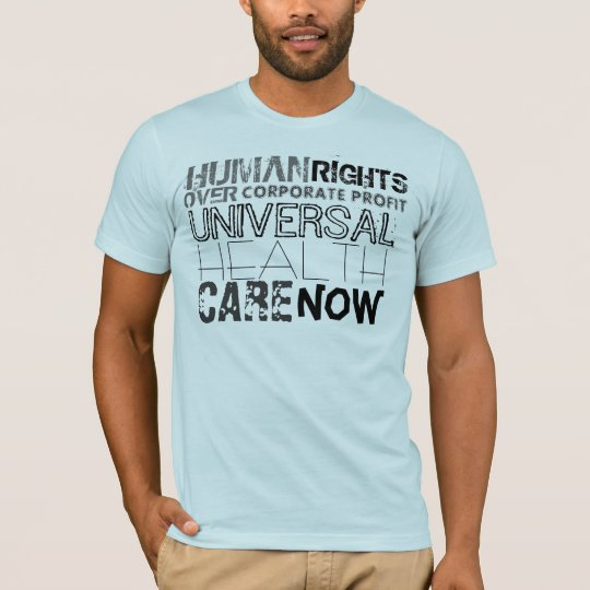 Human Rights Over Corporate Profit T-Shirt
