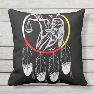 HUMAN RIGHTS PILLOW - NATIVE JUSTICE
