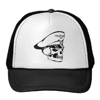 Human Skull Trucker Hat