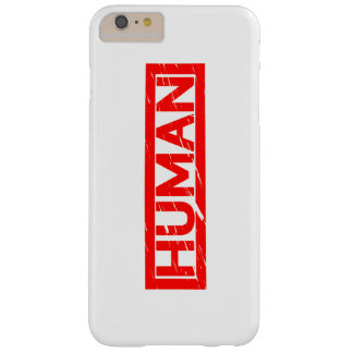 Human Stamp Barely There iPhone 6 Plus Case