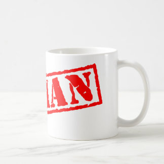 Human Stamp Coffee Mug