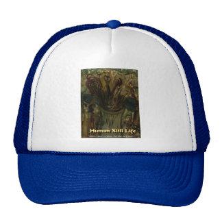 human still life trucker hats
