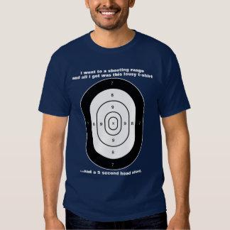 Human Target Humor Shirts