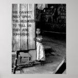 Human Trafficking: Silenced Poster