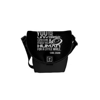 Human Universe Commuter Bag