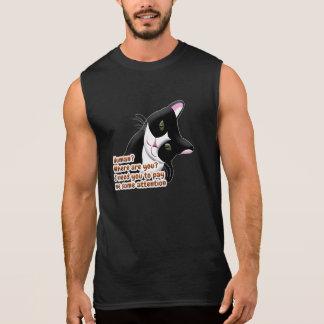 Human? Where are you? Cat Sleeveless Shirt