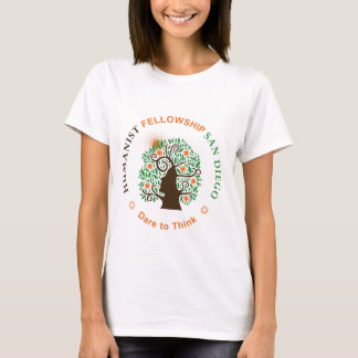 Humanist Fellowship of San Diego Logo T-Shirt