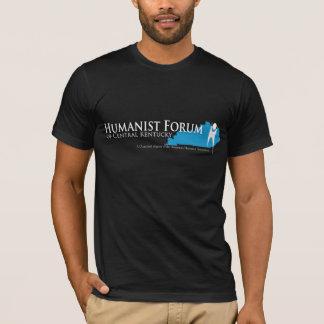Humanist Forum of Central Kentucky Black T-shirt2 T-Shirt