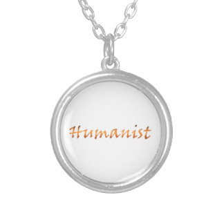 Humanist Gold Silver Plated Necklace