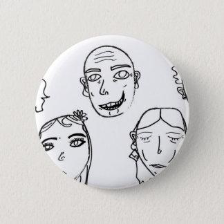 humanity 2 inch round button