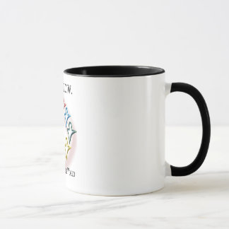 Humanity One World Ringer Coffee Mug