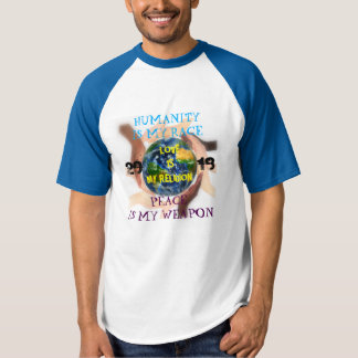 Humanity, peace and love signature shirt