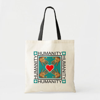 Humanity Stamp Tote Bag