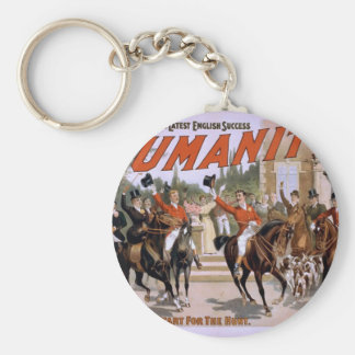 Humanity,'The Start for the Hunt' Vintage Theater Key Chain