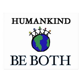 Humankind Postcard