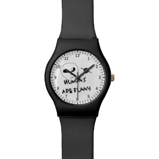Humans Are Funny Wristwatches