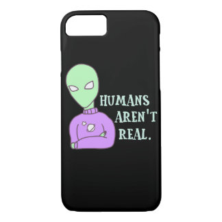 Humans Aren't Real Case-Mate iPhone Case