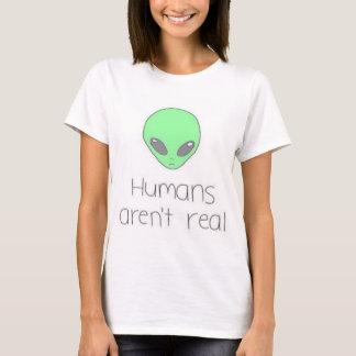 Humans Aren't Real Tee