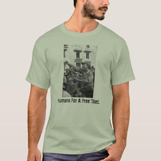 Humans For A Free Tibet T-Shirt