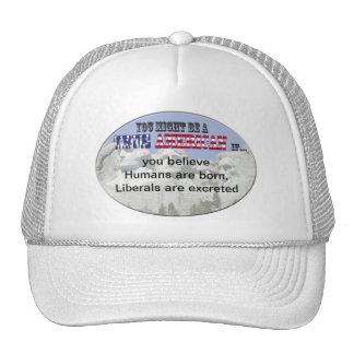 humans liberals trucker hat
