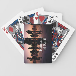 Humans Print Playing Cards - Bicycle Brand
