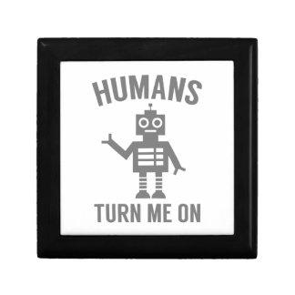 Humans Turn Me On Gift Box
