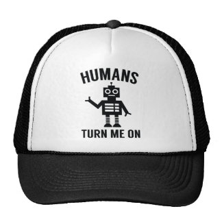 Humans Turn Me On Trucker Hat