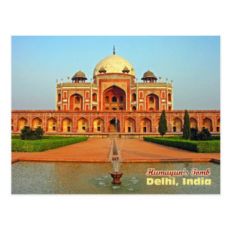 Humayun's Tomb and Garden, Delhi, India Postcard