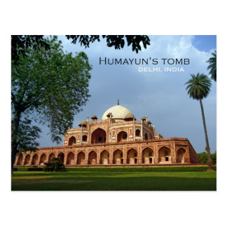 Humayun's Tomb in Delhi, India Postcard
