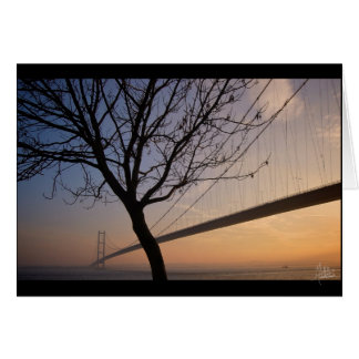 Humber Bridge #4 [Greeting Card] Card