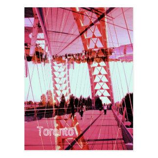 Humber River arch bridge, Toronto, Sunnyside Postcard