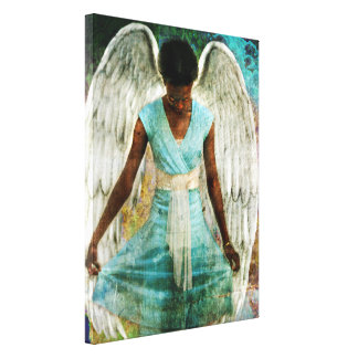 Humble Angel Stretched Canvas Prints