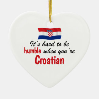 Humble Croatian Ceramic Ornament