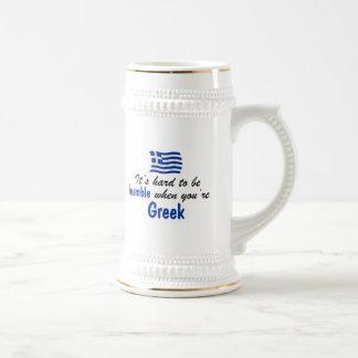 Humble Greek Beer Stein